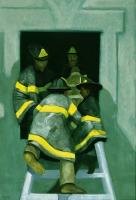 Firemen Knot, 44 x 32, o/c, 1986