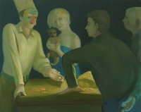 Judgement of Paris, 32 x 40, o/c, 2005