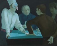Priest's Bet, 32 x 40, o/c, 2005