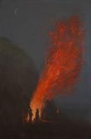 Big Fire, 36 x 24, o/l/p, 2013