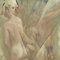 Glance, 24 x 24, o/c, 1999