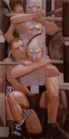 Succor, 50 x 25, o/c, 1997