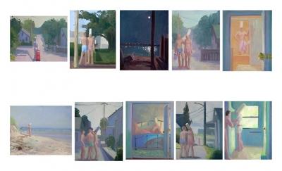 Provincetown Stories, 20 x 16 each, o/l/p, 2015
